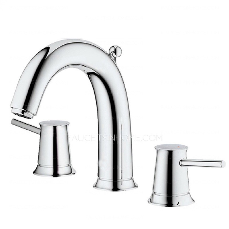 High End Faucets : High End Split Style Rotatable Handle Designed Bathroom Faucet