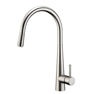 Top Pullout Spray Brushed Professional Kitchen Faucet