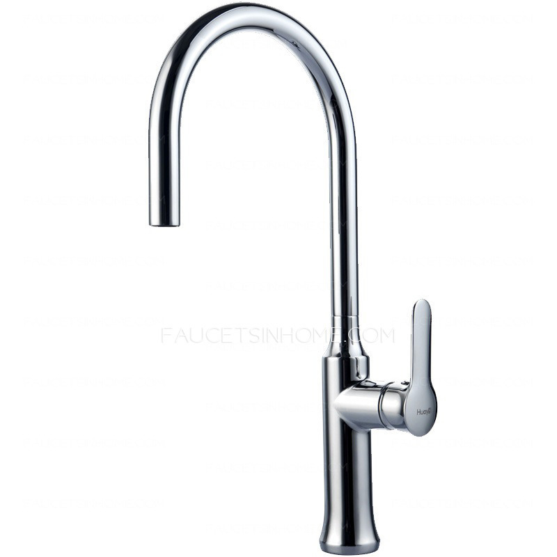 Modern high arc designed pullout spray kitchen faucet Designer kitchen faucets