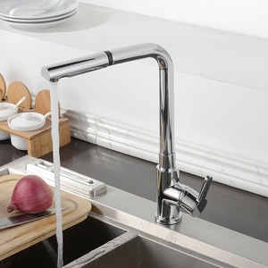 Top Filtering Pullout Rotatable Kitchen Sink Faucet