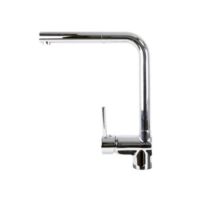 Simple Pullout Seven Shaped Single Handle Kitchen Faucet