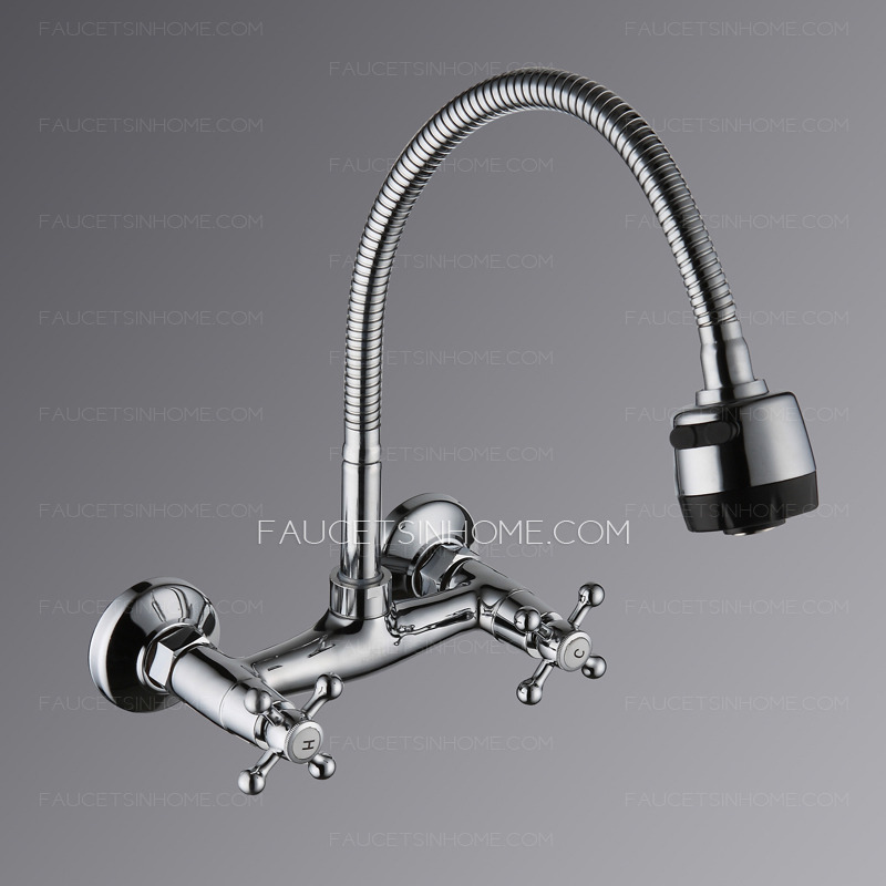 discount two hole wall mount old style kitchen faucet commercial kitchen sink faucets style restaurant faucet