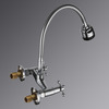Discount Two Hole Wall Mount Old Style Kitchen Faucet