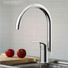 Top Rated Brass Centerset One Hole Kitchen Sink Faucet