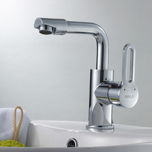 Professional Bathroom Faucet With Hollow Single Handle