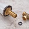 Antique Copper Three Split Set Bathroom Sink Faucet