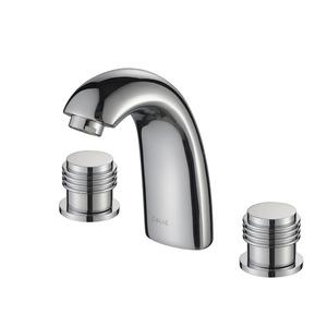Modern Split Copper Rotatable Handle Bathroom Faucet