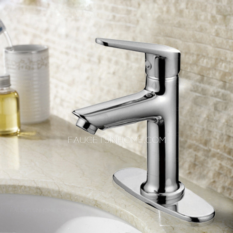 > Bathroom Sink Faucets > Simple Three Hole Center Set Bathroom Sink ...