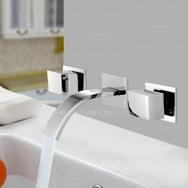 Modern Bathroom Sink Faucets Waterfall Bathroom Sink Faucet