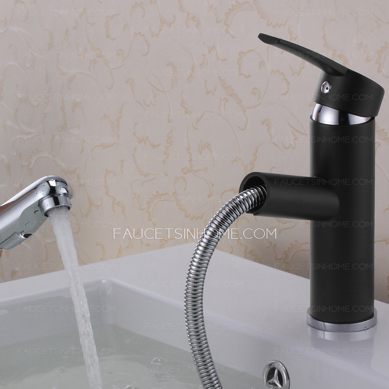 cheap black bathroom faucets cheap black bathroom sink faucet of pullout and single handle