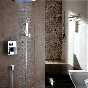 Best Concealed Wall Mount Top Shower Faucet Bathroom