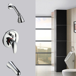 Cheap Concealed Wall Mount Shower Faucet System