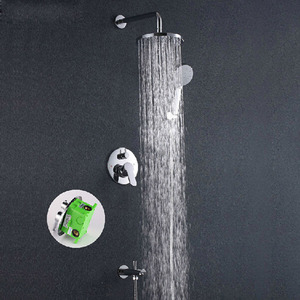 Modern Top 10 Concealed Wall Mount Shower Faucet System