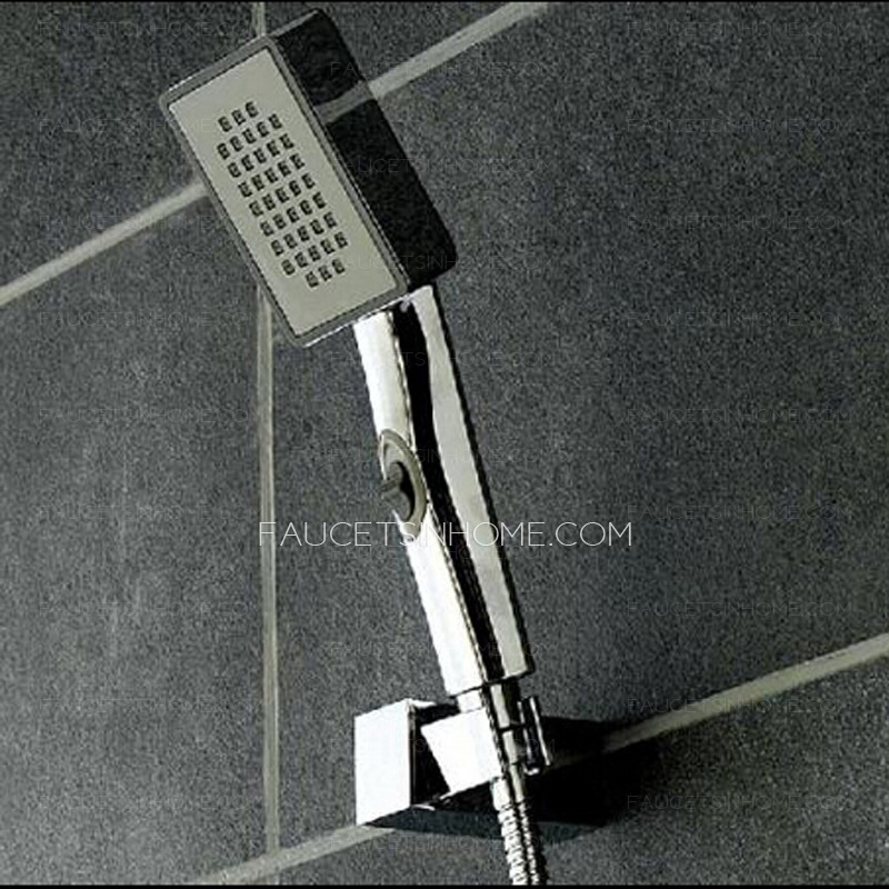 Simple Concealed Wall Mount Hotel Bathroom Shower Faucet