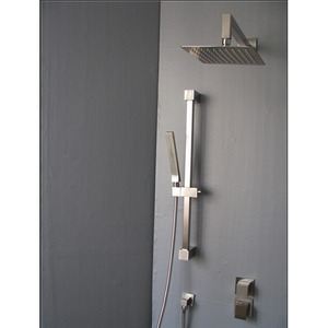 High End Stainless Steel Concealed Shower Bathroom Faucet