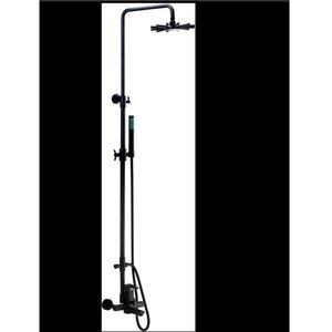 Designed Black Brushed Nickel Elevating Shower Faucet System