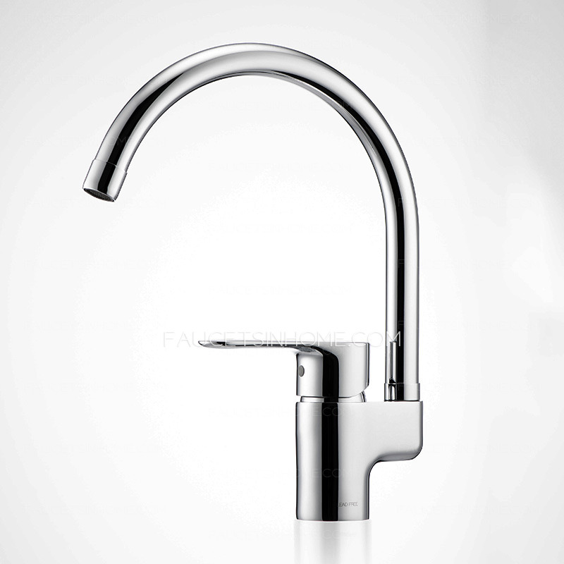 best rated copper high arc kitchen sink faucet sale top rated seven shaped brass kitchen sink faucet