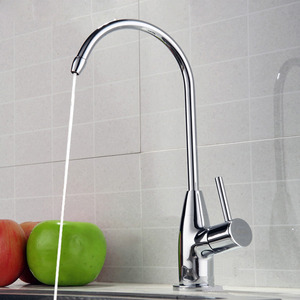 Designed High Arc Pure Water Kitchen Faucet Cold Water