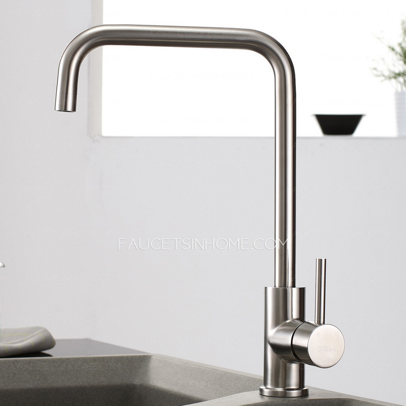 how to clean brushed stainless steel faucet