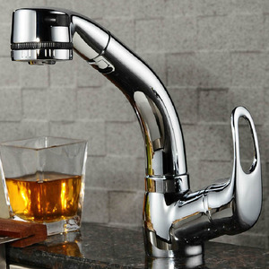 Advanced Pullout Copper Rotatable Kitchen Sink Faucet