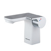 Modern Single Hole Bathroom Electric Faucet Single Handle