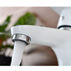 Modern White Painting Single Handle Bathroom Faucet On Sale