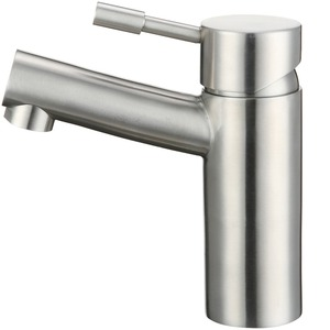 High End Stainless Steel Leading Free Single Hole Bathroom Faucet
