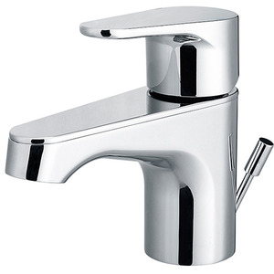 Best Brass Single Hole Sink Faucet Bathroom Pulling Overflow