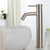 Environmental Stainless Steel Heightening Bathroom Vessel Faucets