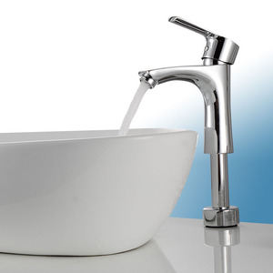 Inexpensive Elevating Brass Bathroom Faucets For Vessel Sinks