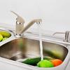 Top Brass White Rotatable Lengthen Spout Kitchen Faucets