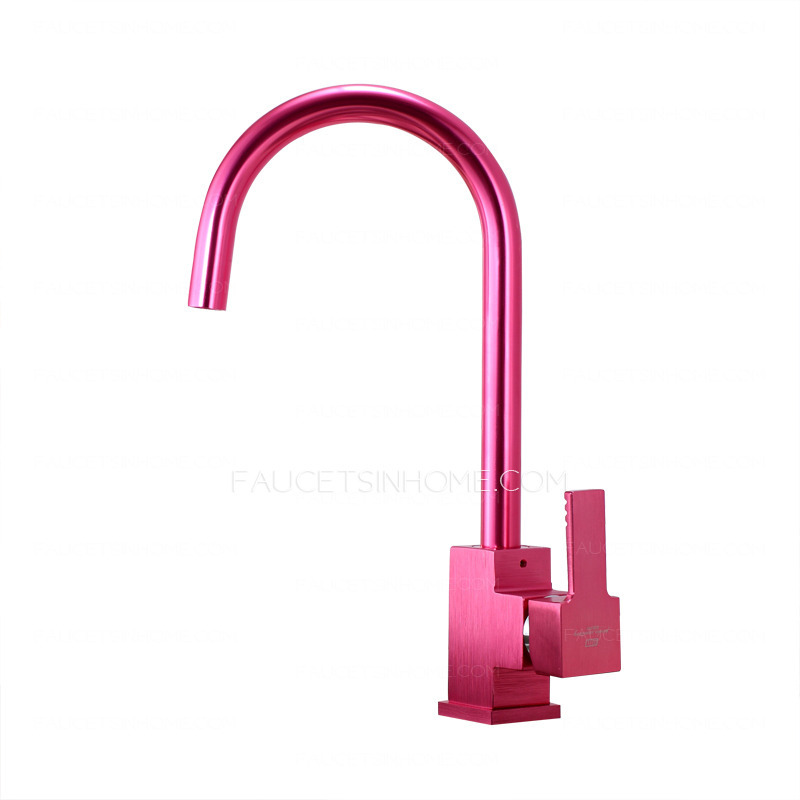 Home > Kitchen Faucets > Fashionable Rose Red Painting Kitchen Faucet