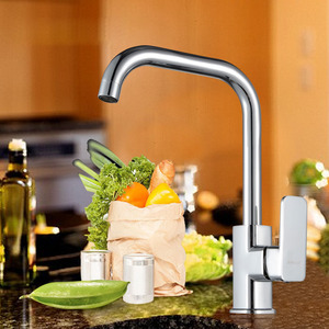 Wholesale Brass Seven Shaped Single Hole Kitchen Faucets