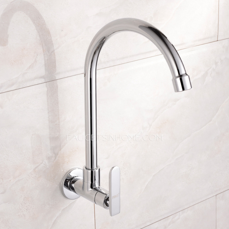 wall mount kitchen faucet with sprayer spray delta affordable cold water single hole