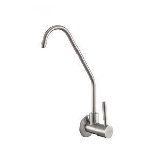 Cheap Stainless Steel Cold Water Wall Mount Kitchen Faucets