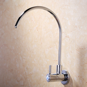 Cheap Wall Mount Water Purifier Kitchen Faucets Goose Neck