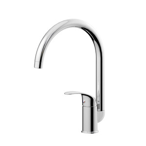 Good Brass Rotatable High Arc Kitchen Faucets Under 100