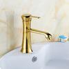 Discount Vintage Brass Single Hole Rotatable Sink Faucet Bathroom