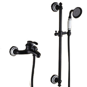 New Style Oil Rubbed Bronze Brass Outdoor Shower Faucets