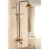 Hot Sale Brass Vintage Two Handle Shower Faucet Antique Bronze
