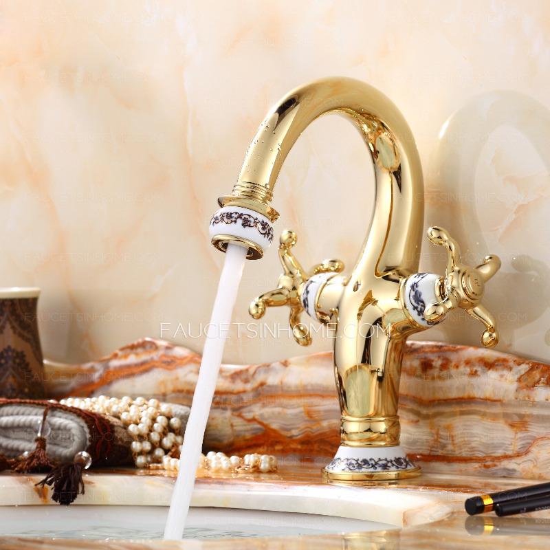 Luxury bathroom faucets