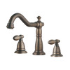 Best Oil Rubbed Bronze Three Hole Brushed Bathroom Faucets