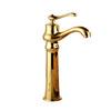 Top Sale European Style Golden Vessel Mount Bathroom Faucet