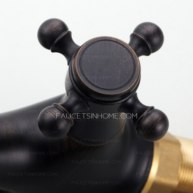Inexpensive Black Oil Rubbed Bronze Vintage Bathroom Faucets