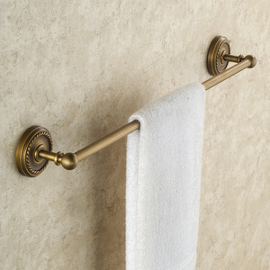 Discount Antique Brass Single Bathroom Towel Bars