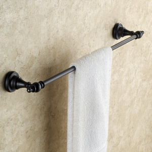 Black European Style Oil Rubbed Bronze Towel Bars