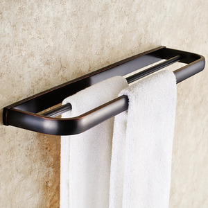 Unique Black Oil Rubbed Bronze Bathroom Towel Bars