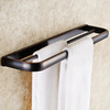 Unique Black Oil Rubbed Bronze Bathroom Towel Bars