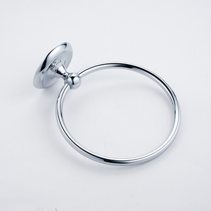 Discount Round Brushed Nickel Stainless Steel Towel Rings For Bathroom