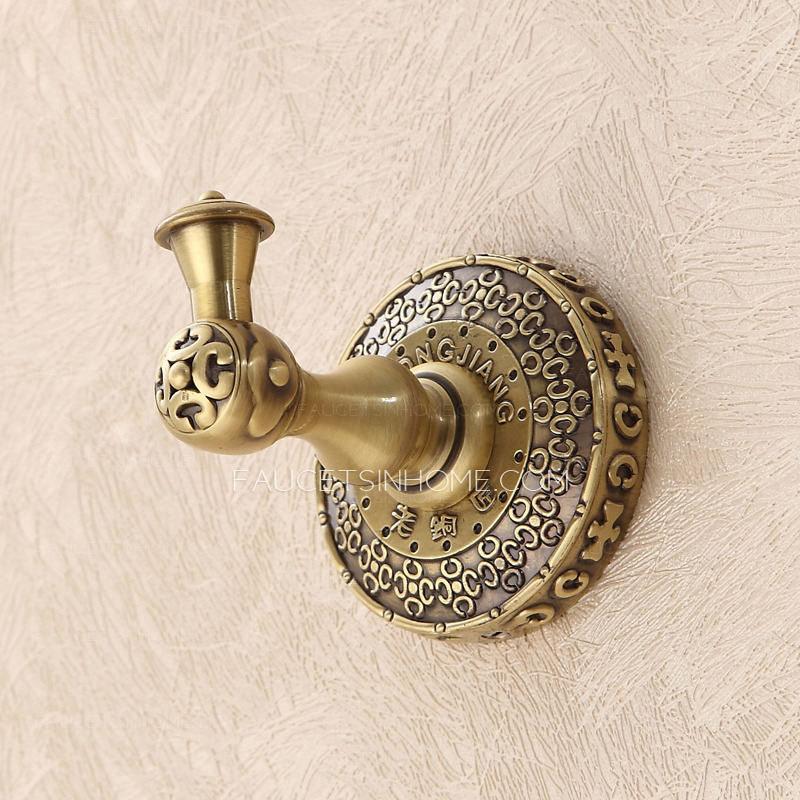 Bronze bathroom accessories